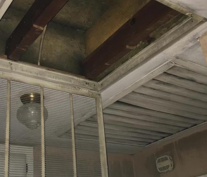 Attic Fire In Joplin, Missouri Before