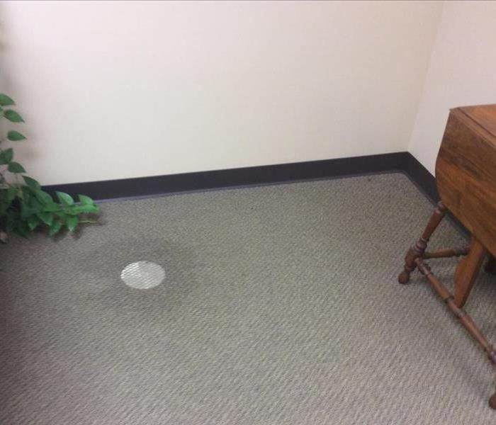 Drains Cannot Keep Up In Parsons Office Before