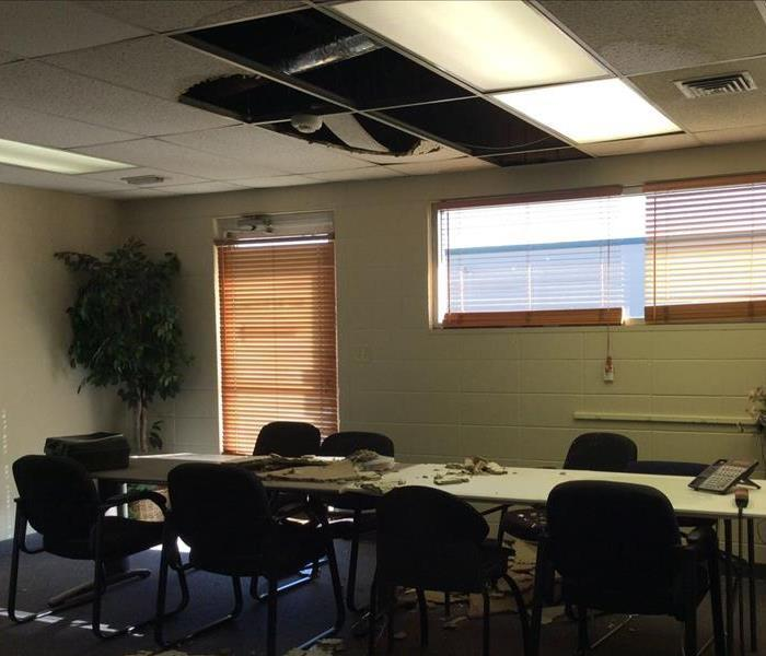 Water Damage in Local Office Complex