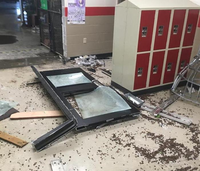 Kansas School Damaged by Vandalism