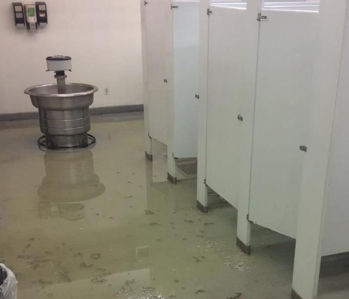Water Damage in Joplin Manufacturing Plant