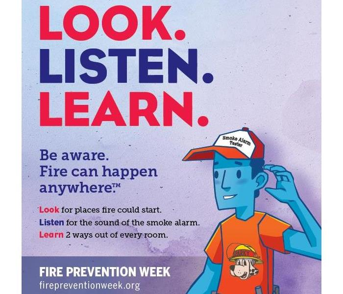 Fire Damage Fire Prevention Week 2018